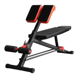 Soozier Adjustable Roman Chair - Multifunction Workout Press
