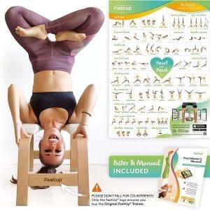 FeetUp Yoga Headstand Bench